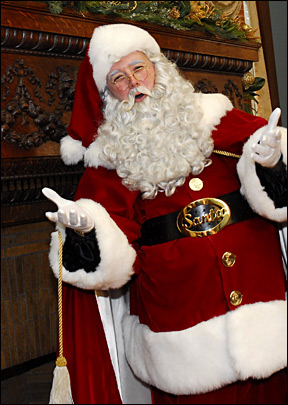 Singing Santa Claus